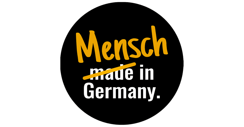 Logo Mensch in Germany